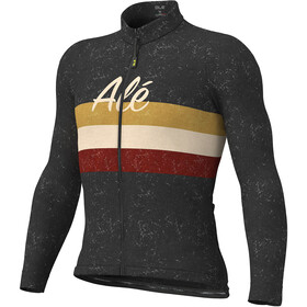 Alé Cycling Classic Vintage LS Jersey Men black
